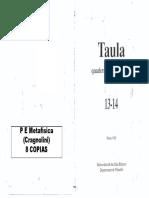 02059002 MARION - El Interpelado (Taula 13-14)
