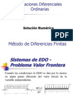 EDO Diferencias Finitas 2017 -III