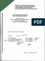 Factorizacion de Hadamard Para Polomios de Hurwints