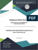 TP1 - Curriculum Pousa