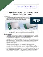 EWS Bluegiga Bluetooth Example
