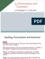 Spelling slides