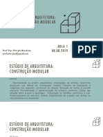 Estúdio de Arquitetura AULA 1