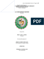 LHS Accomplishment Report