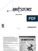 (PSX)Vagrant Story Manual
