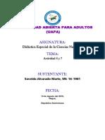 TAREA 6 y 7 DIDACTICA DE CIENCIAS NATURALES.docx