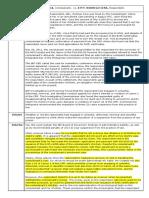 Case Digest - Andrada v. Cera