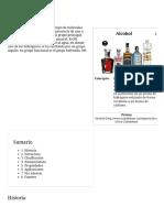 Función orgánica Alcohol