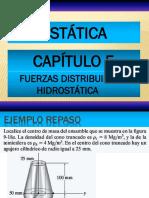 Fuerza distribuida hidrostática