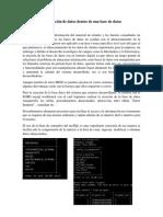 Análisis e Interpretación de Datos Dentro de Una Base de Datos