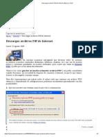Descargar Archivos PDF de Internet _ Básico y Fácil
