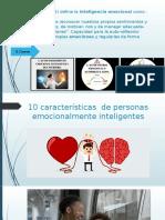 10 Características de Personas Emocionalmente Inteligentes