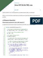 Obtener Parámetros GET de La URL Con JavaScript - ALCales