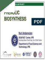 Module2 Phenolic Biosynthesis