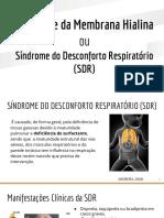 Síndrome da Membrana Hialina + aspiração de mecônio