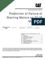 Prediction of Failure of Starting Motors