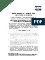 Resolucion d.g 478 de 2000