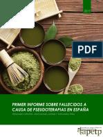 Primer Informe Sobre Fallecidos a Causa de Pseudoterapias en ESPAÑA