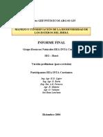 Plan de ManejoyConservEsterosIbera (PNUD-GEF-ECOS)