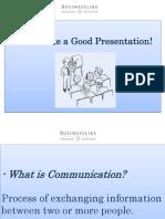 Let`s make a good presentation-2016