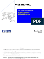 EPSON SC F6000 SC B6000 Series Printer English Service Manual Direct Download