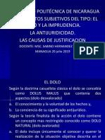 Causas de Justificacion UPOLI 2013 - Copia