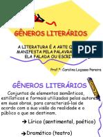 generos literarios karina.ppt