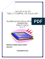 Planificacion Anual Completa 2017 6to y 7mo