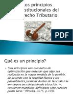 PPT. Principios Constitucionales -Tributario
