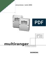 Manual Do Multiranger Em Espanhol