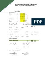 calculo manantial