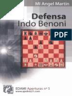 5. Martín - Defensa Indo Benoni (Edami)