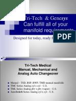 Manual, Mechanical, & Analog Manifolds