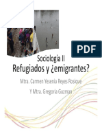 Sociologi II Refugiados y Emigrantes [Modo de Compatibilidad]