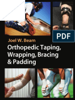 Orthapedic Taping, Wrapping, And Bracing