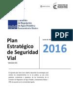 Plan Estrategico Seguridad Vial Cra 2016