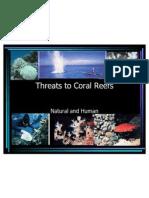 Coral Threats