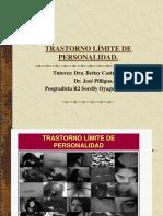 Trastorno limite de la personalidad