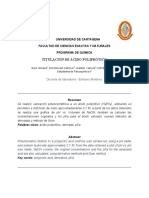Titulación de Ácido Poliprótico.