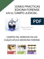 Tema 4 Aplicaciones Practicas de La Medicina Forense