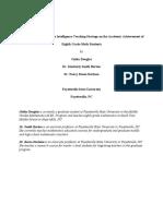 TheEffectsoftheMultipleIntelligenceTeachingStrategyonAcademicAchievementof8thGradeMathstudents