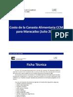 CCM Inflacion Julio