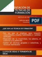 Implementación de técnicas formativas.pptx