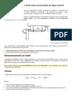 DimensionamentoBoiler_Acumulaçãoáguaquente