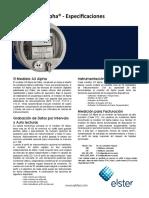Ficha Técnica - A3 - Alpha Ethernet - (Serie a3rl 12s - Kt2g)