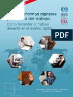 Las Plataformas Digitaales y El Futuro Del Trabajo. OIT
