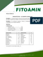 Ficha Tecnica - FITOAMIN