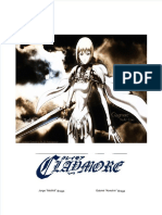 3D&T Claymore