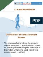 TOPIC 1 Measurement & Error