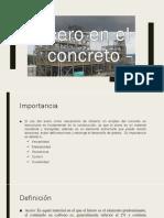 Acero en el concreto